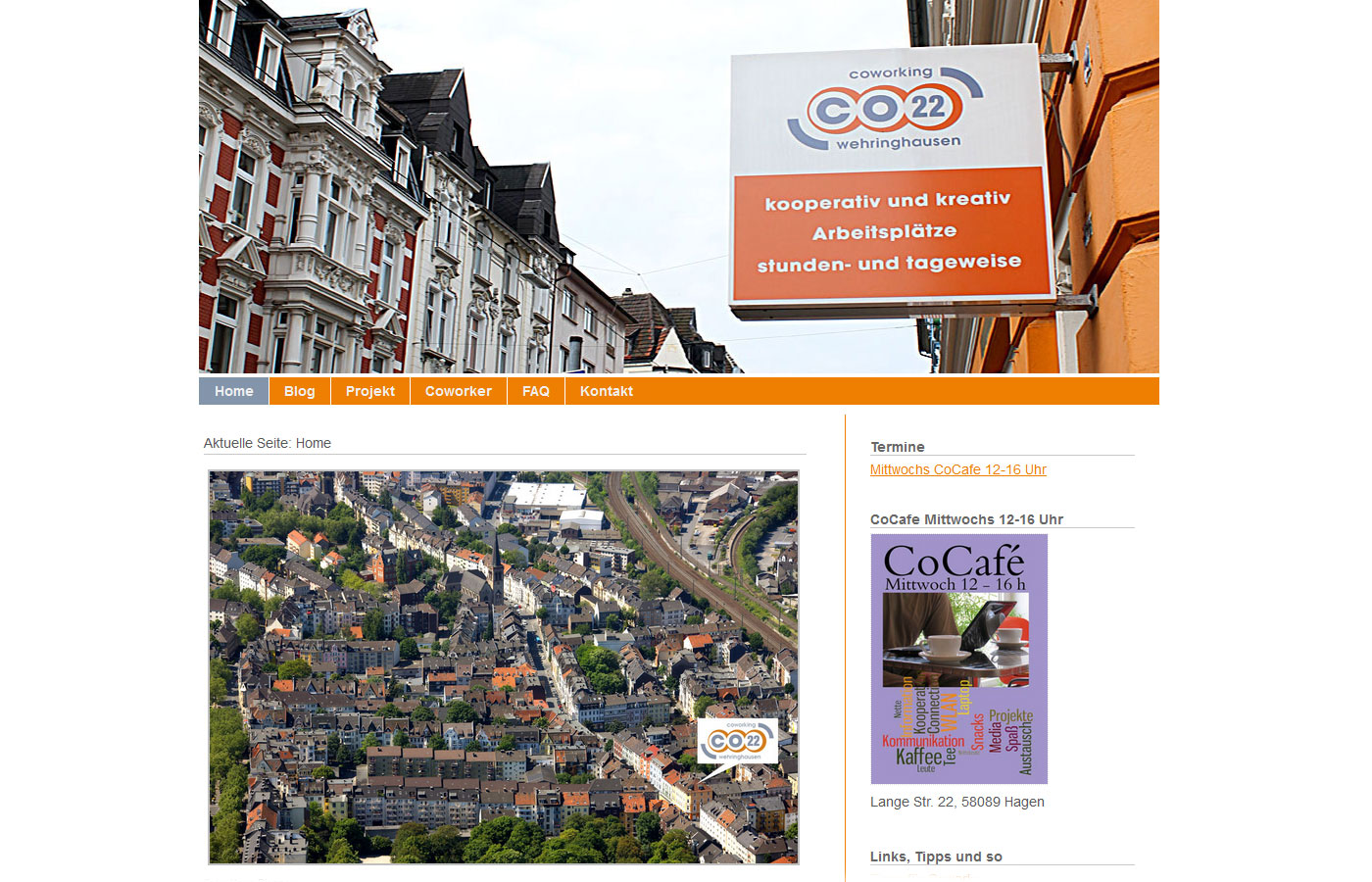 co22 - coworking space Wehringhausen